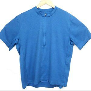 REI Womens Blue T Shirt Athletic Work Out Cycling